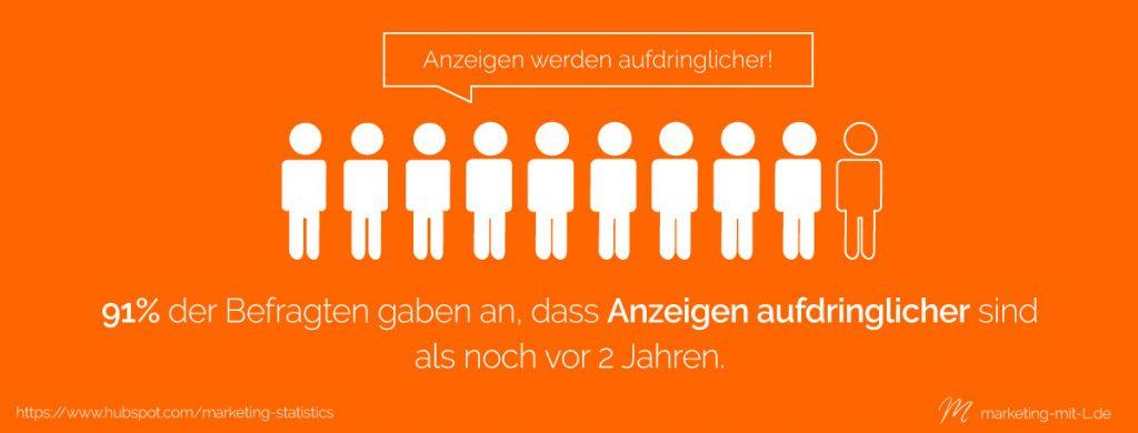 Statistik-Outbound-Marketing-Anzeigen