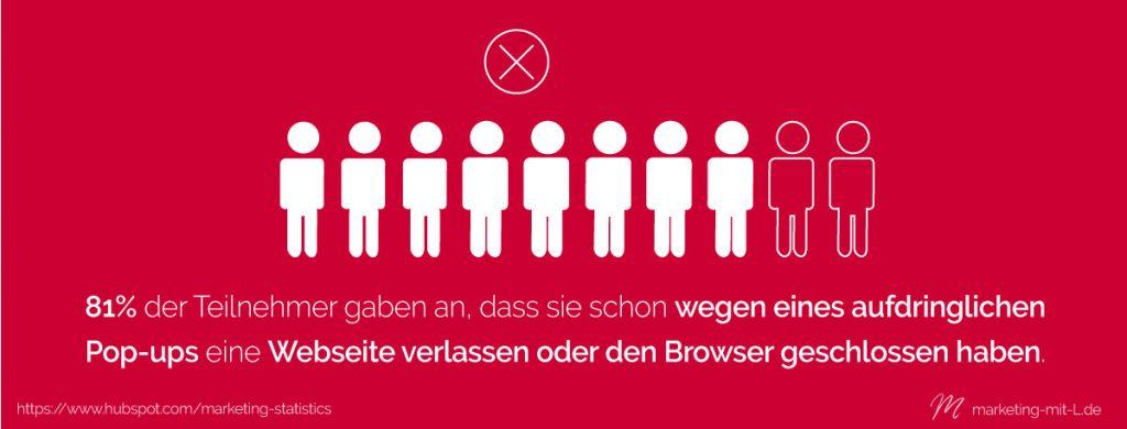 Statistik-Outbound-Marketing-Browser-verlassen