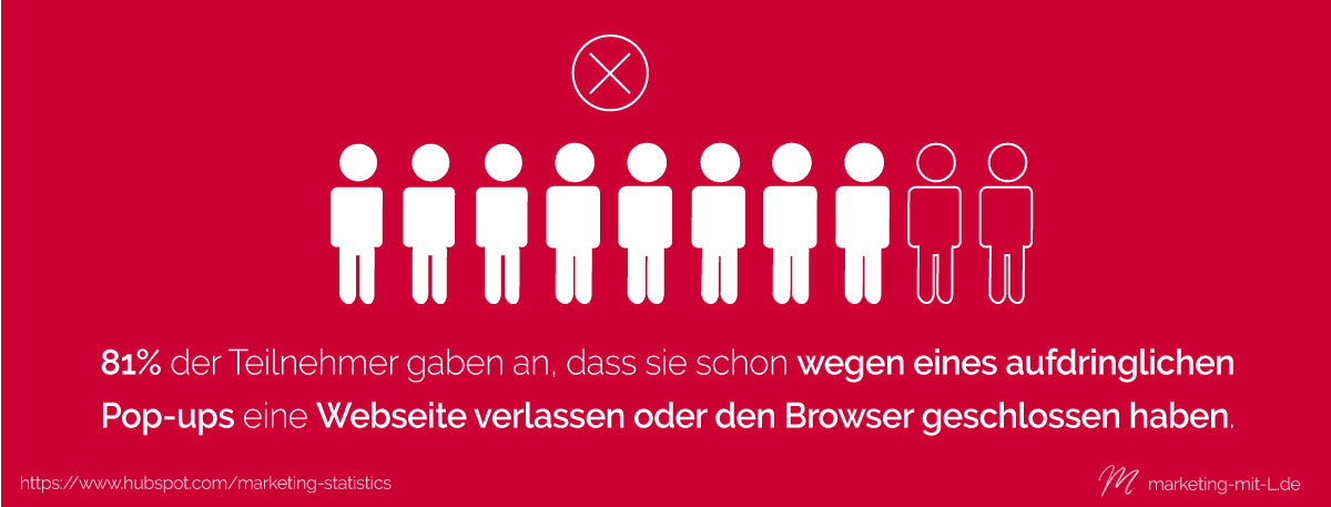 Statistik-Outbound-Marketing-Browser-verlassen