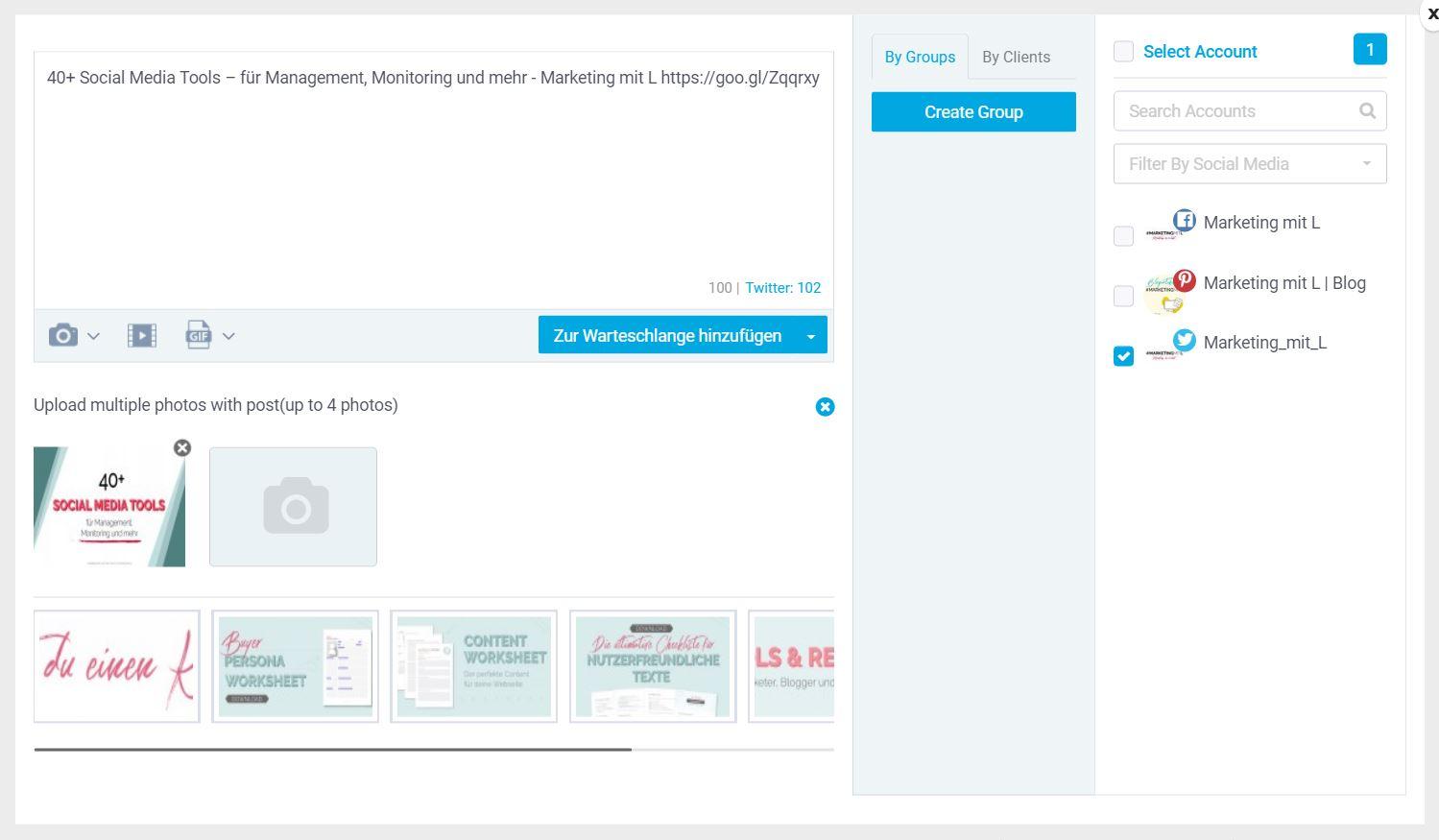 SocialPilot Erfahrungsbericht Browser Extension