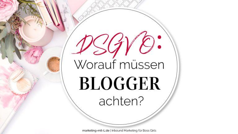 DSGVO-Worauf-muessen-Blogger-achten