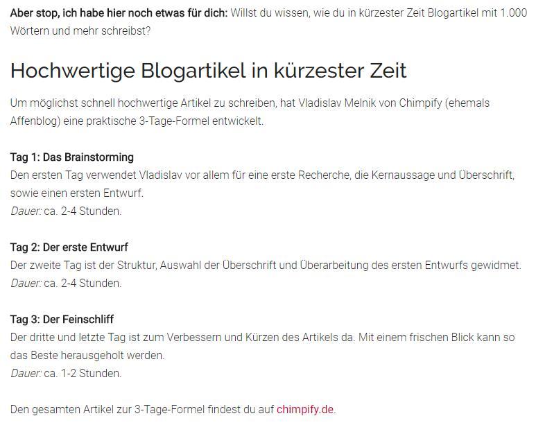 Mehr Traffic für deinen neuen Blog? Erwähne andere Blogger in deinen Artikeln.