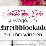 4 Wege, um Schreibblockaden zu überwinden