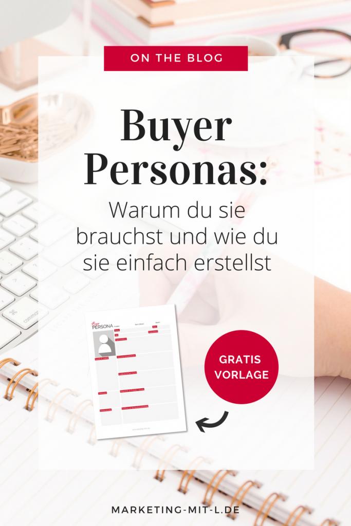 Buyer Persona erstellen Vorlage