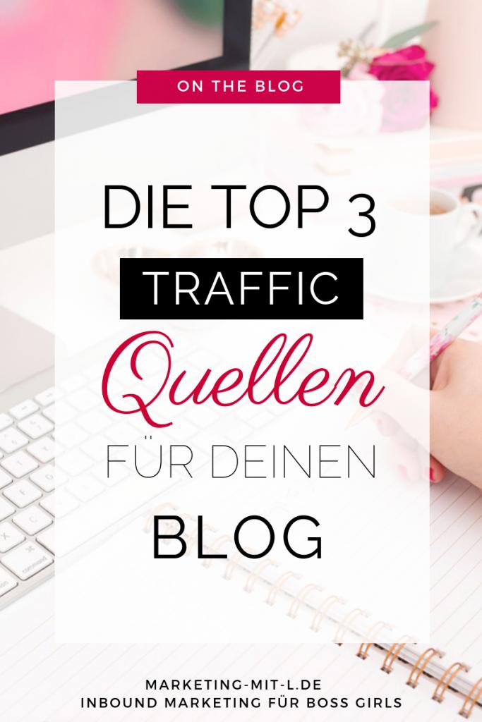 Traffic Quellen für neuen Blog