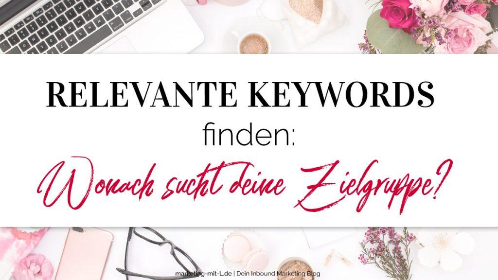 Relevante-Keywords-finden