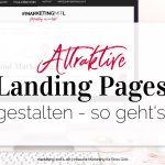 Attraktive Landing Pages erstellen – so geht's!