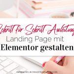 Schritt-für-Schritt Anleitung: Landing Page mit Elementor erstellen