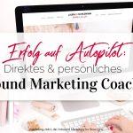 Direktes und persönliches Inbound Marketing Coaching