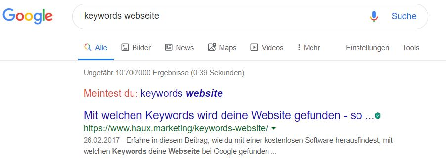 keywords-website-beispiel