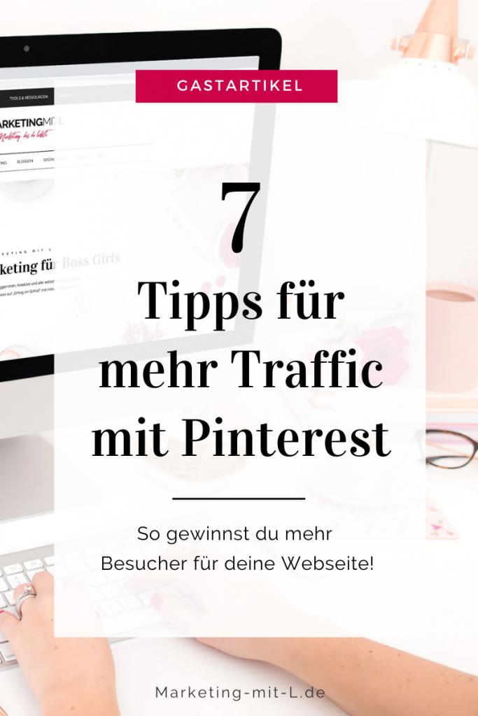 Pinterest Traffic Tipps Titelbild